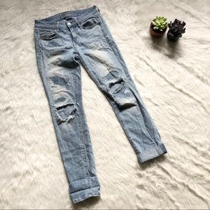 American Eagle Skinny Distressed Jean